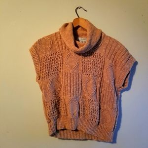 Vintage Sleeveless Cowl Knit Made in Ireland